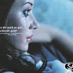 """Sat.1 """"Ja"""" Imagekampagne – Motiv """"Großer Sat.1 Film"""". Ausgezeichnet u.a. mit Gold bei Promax"""