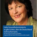 """Allianz APKV """"Zahnzusatz"""" Imagekampagne – Motiv """"Lücke"""""""