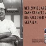 """""""Das Zeug zum Mann"""" Men's Health Kampagne – Motiv """"Falsche Frau"""". Ausgezechnet u.a. mit Silber beim ADC."""