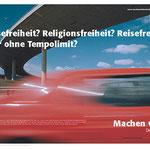 """""""Machen wir!"""" Marke Deutschland Imagekampagne – Motiv """"Freiheit"""". Gewinner des Wettbewerbs."""