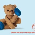 "Kinder-Yoga Berlin Imagemotiv ""Teddy"""