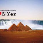 """I love New York"" New York State Imagekampagne – Motiv ""NY Gizeh"""