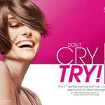 "Schwarzkopf Professional Seneo Kampagne – Motiv ""Try!"""