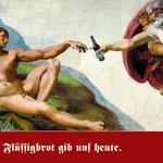 """Klosterbrauerei Neuzelle Imagemotiv """"Für Adam"""""""