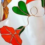 Raamhanger detail bloem