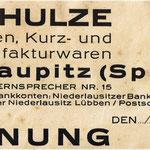 Rechnungskopf 1936.