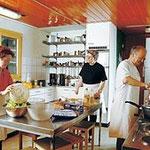 Lagerhaus mit Küche