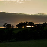 Sunset near Lanercost.