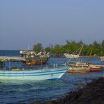 Villaggio di pescatori nei pressi del Centro Spaziale Luigi Broglio.