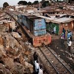 Kibera, Nairobi. Gli abusivi (squatters) permanenti