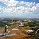Base Spaziale di Kourou in Guyana.