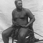 Il re zulu Cetshwayo kaMpande.
