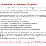 DownCodex Mountain Equipment Seite 2