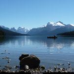 Lac Maligne, Parc National de Jasper, Alberta