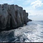 L'archipel des îles Kornati dévoile des falaises vertigineuses qui s'élèvent jusqu'à une centaine de mètres au dessus des flots