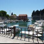 Petit port paisible à Zadar