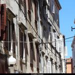 Zadar et ses ruelles étroites