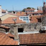 Zadar et ses toits, qui rappellent Toulouse