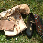 Bags from the Cave of Letters, Bargercompascuum, Comacchio and shoes from Vindolanda