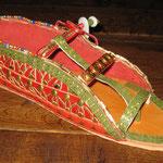 Shoe from the grave of Tutankhamun, around 1323 BC