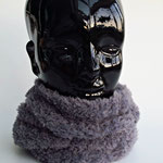Rundschal grau,   handmade by Anna®