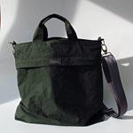LIZ gorsse Tasche aus Segeltuch/Oilskin, grosse Aussentasche mit Reissverschluss, 3 Innenfächer