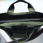 LIZ Umhängetasche mit Innenfächer, Futter: beschichtete Baumwolle
