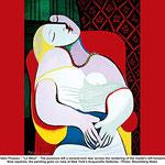 Pablo Picasso (1881-1973), Le Rêve (1932) - Huile sur toile.