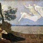 Pierre Puvis de Chavannes (1824-1898), Le rêve (1883) - Huile sur toile.