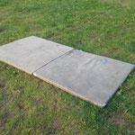 kleine Turnmatten 100 x 100 cm