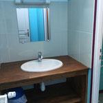 lavabo chambre 4 Ferme Relais de la Baie de Somme gîtes de groupe baie de somme