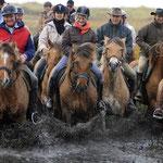 La Transhenson par les cavaliers de Morlay