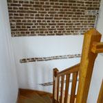 l'escalier Ferme Relais de la Baie de Somme gîtes de groupe baie de somme