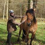iliade et son cavalier Hervè