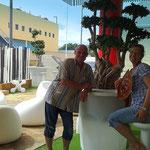 WOK Zuhang, unsere Gäste: Andrea und Detlev aus G.