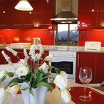 Ferienwohnung Valencia, Villa Gandia Hills, Küche