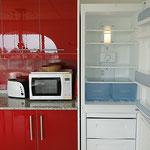 Kühlschrank, Gefrierschrank, Mikrowelle