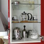 Michaufschäumer, Teekanne, Stöfchen