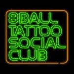 8ボールソシアルクラブのロゴです。