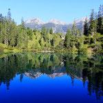 SEPTEMBER 2015 - einer der schönsten Seen im Lechtal