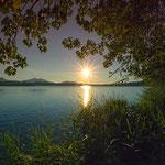 AUGUST 2015 - Sonnenuntergang am Hopfensee