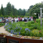 Auf dem Südfriedhof - Foto: Marlene Scheeler, KLFV-Plön