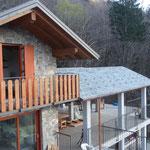 Balkon und Terrasse mit Seesicht