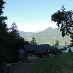 Sicht aufs Haus