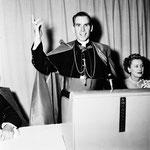 05.28.1952 - Archbishop's dinner with Bishop Fulton J. Sheen