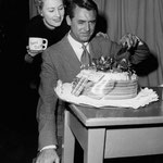 "01.18.1955 - production of ""The Awful Truth""(Lux Radio Theatre). The day of the broadcast was Cary´s birthday."