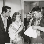 with Cary Grant and Edgar Buchanan