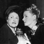 ca.1948 chatting with Louella Parsons, looks like the same event as the previous photo