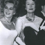 1962 with Eva Gabor at the premiere of 'The Miracle Worker'