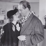 with Melvyn Douglas